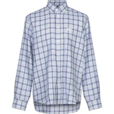 ファソナブル FACONNABLE メンズ シャツ トップス checked shirt Blue