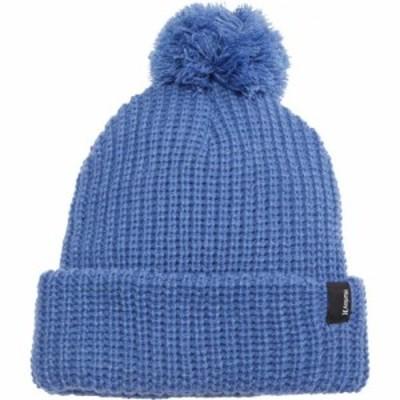 ハーレー Hurley メンズ ニット ポンポン ビーニー 帽子 Lydia Pom Beanie World Indigo