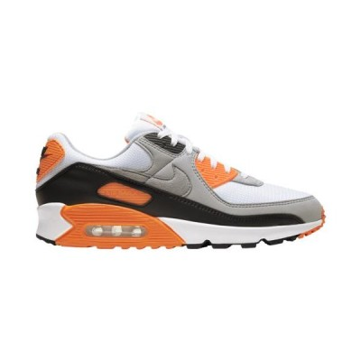 (取寄)ナイキ メンズ シューズ エア マックス 90 Nike Men's Shoes Air Max 90White Particle Grey Black Total Orange