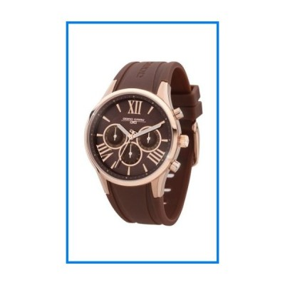 (輸入品)Jorg Gray | Womens Brown w/Integrated Rubber Band Watch | JG1500-21 | Brown w/Rose Gold Dial