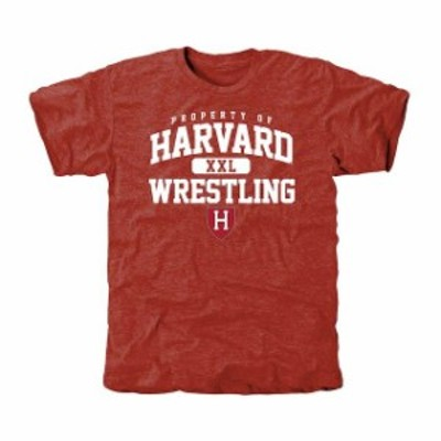Fanatics Branded ファナティクス ブランド スポーツ用品  Harvard Crimson Crimson Takedown Tri-Blend T-Shirt