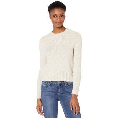ジェイクルー ニット&セーター アウター レディース Saddle Sleeve Crew Neck Sweater Oatmeal Multi Heather