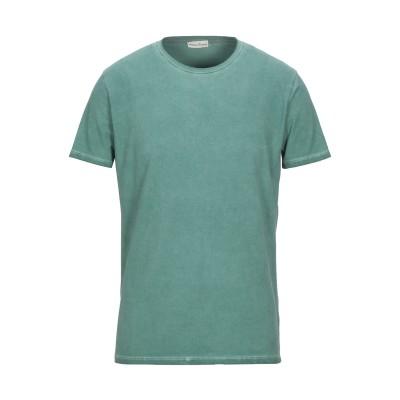 CASHMERE COMPANY T シャツ グリーン 46 コットン 100% T シャツ
