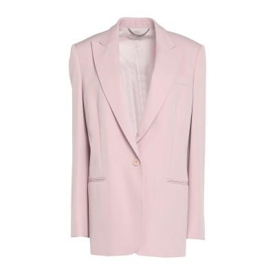 ステラ マッカートニー STELLA McCARTNEY テーラードジャケット ライトピンク 40 ウール 97% / ポリウレタン 3% テーラー