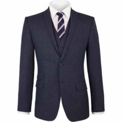 ライムハウス Limehaus メンズ スーツ・ジャケット アウター Blue Pow Check Jacket Blue