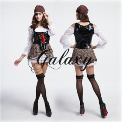ハロウィン 海賊 女海賊 パイレーツ コスチュームコスプレ ダンス 衣装 イベント パーティー ps0078(ps0078)