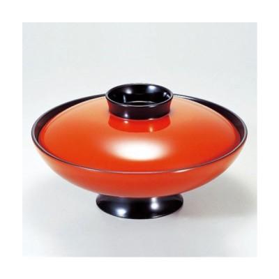 (業務用・蓋向・煮物碗)7寸小槌煮物椀 朱 1050cc(入数:5)