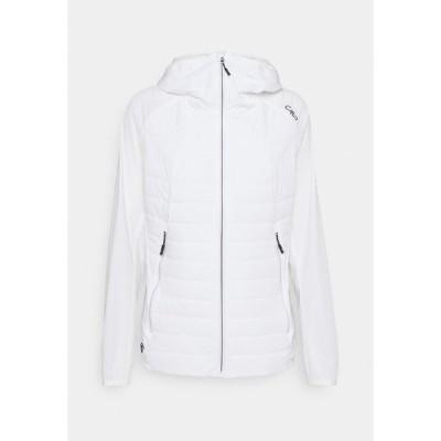シーエムピー ジャケット&ブルゾン レディース アウター WOMAN FIX HOOD JACKET - Outdoor jacket - bianco