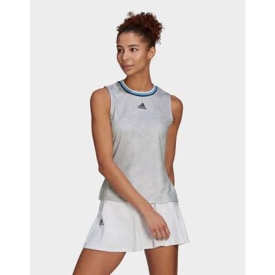 アディダス adidas レディース テニス タンクトップ トップス tennis primeblue printed match tank top