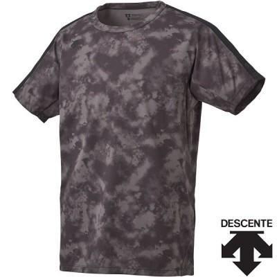 ◆◆○送料無料 メール便発送 <デサント> メンズ ZERO STYLE サンスクリーンTシャツ DMMPJA04Z (BK) 半袖Tシャツ DMMPJA04Z-BK