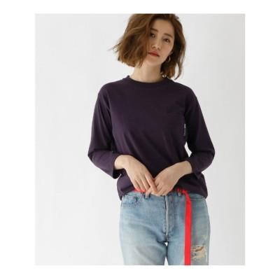 ベース コントロール BASE CONTROL ヘビーウェイト 7分袖 Tシャツ 【WEB限定】 (パープル)