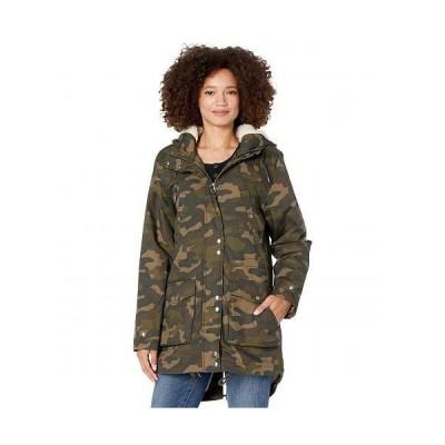 Volcom ヴォルコム レディース 女性用 ファッション アウター ジャケット コート ダウン・ウインターコート Walk On By 5K Nuts - Camouflage