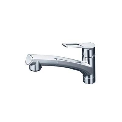 KVK:流し台用シングルレバー式シャワー付混合栓 型式:KM5021JT