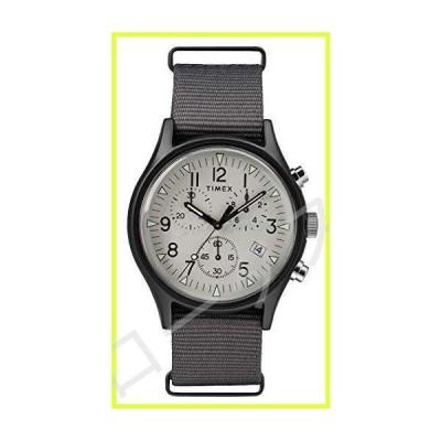 Timex TW2T10900 クロノグラフ クォーツ腕時計 メンズ ナイロンストラップ付き 並行輸入品