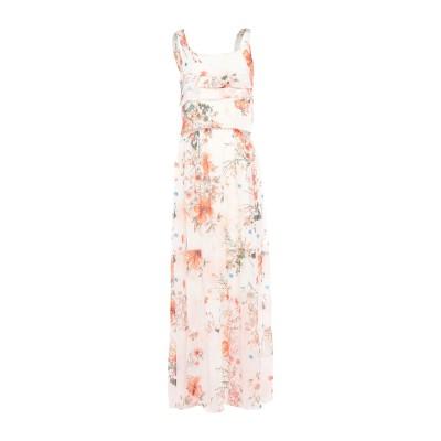 KITANA ロングワンピース&ドレス ホワイト 50 ポリエステル 100% ロングワンピース&ドレス