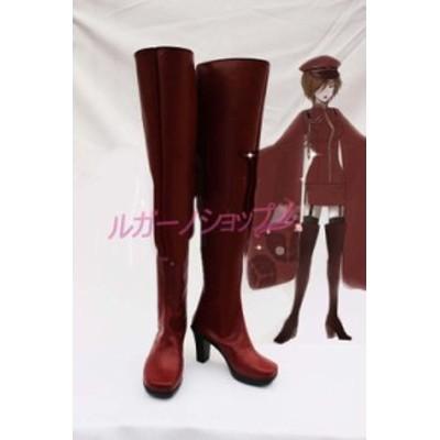VOCALOID  ボーカロイド 千本桜 メイコ MEIKO 風 コスプレ用ブーツ cosplay コスチューム