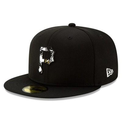 MLB ピッツバーグ・パイレーツ キャップ/帽子 2020 キャンプ バッティング プラクティス 59FIFTY ニューエラ/New Era ゲーム【平つば キャップ 特集】