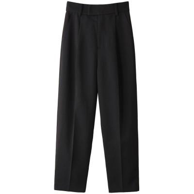 three dots スリードッツ Soft twill pant/パンツ レディース ブラック S