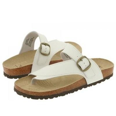 ホワイトマウンテン White Mountain レディース サンダル・ミュール シューズ・靴 Carly White Leather