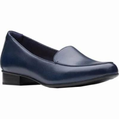 クラークス ローファー・オックスフォード Juliet Lora Loafer Navy Leather