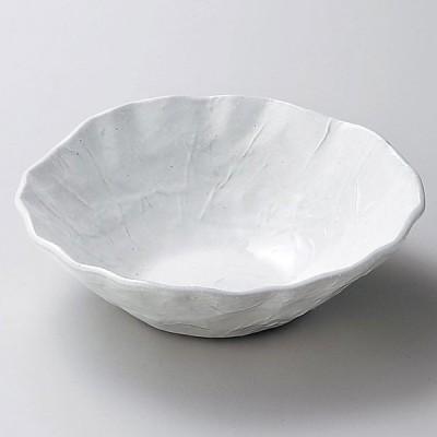 陶雅 粉引手折サラダ鉢