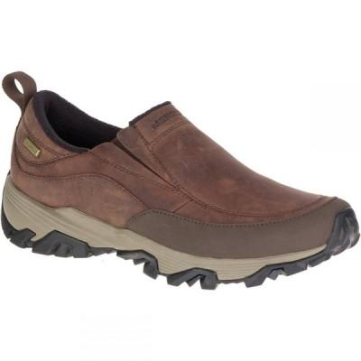 メレル Merrell メンズ スリッポン・フラット シューズ・靴 Coldpack Ice+ Moc Waterproof Shoes Cinnamon