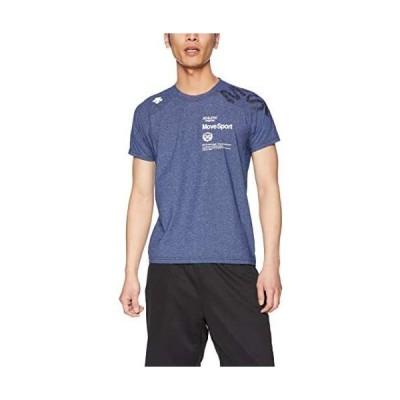 [デサント] タフTシャツ 吸汗速乾 抗ピリング ストレッチ UVカット(UPF30) (NVM S)