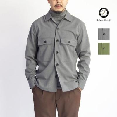 ファティーグシャツジャケット ギャバジンストレッチ M-1943 日本製 メンズ