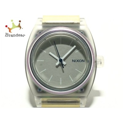 ニクソン NIXON 腕時計 MINIMIZED レディース ラバーベルト グレー 新着 20201006
