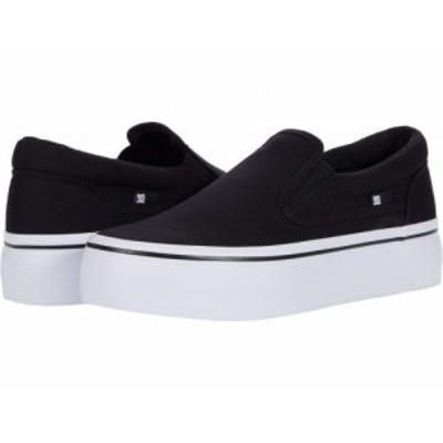 DC ディーシー レディース 女性用 シューズ 靴 スニーカー 運動靴 Trase Slip-On Platform Black/White 2【送料無料】