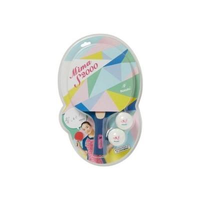【卓球ラケット】NITTAKU(ニッタク)日卓 ラバー張り シェークハンド MIMA S2000 NH5139【750】