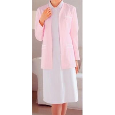 205 ジャケット長袖 全3色 (看護師 ドクター ナース 介護 メディカル白衣 「KAZEN」)