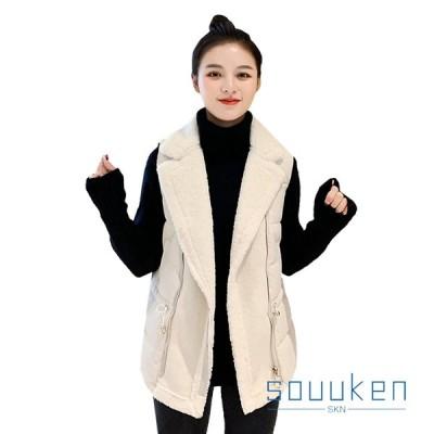 ノースリーブ 中綿ベスト フリース 防寒 防風 暖かい ゆったり 通勤 アウトドア オシャレ 冬服