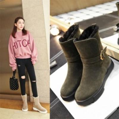 ブーツ ショートブーツ 送料無料 レディース 靴 全3カラー 暖かい 大きいサイズ ジッパー 秋冬 美脚 脱ぎ履き おしゃれ ショート