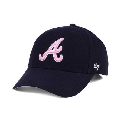 47ブランド メンズ 帽子 アクセサリー Atlanta Braves MVP Cap