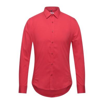 インペリアル IMPERIAL シャツ レッド S コットン 68% / ナイロン 29% / ポリウレタン 3% シャツ