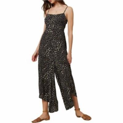 オニール ONeill レディース オールインワン ジャンプスーツ ワンピース・ドレス Jaladra Jumpsuit Black