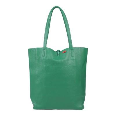 TSD12 ハンドバッグ グリーン 革 ハンドバッグ