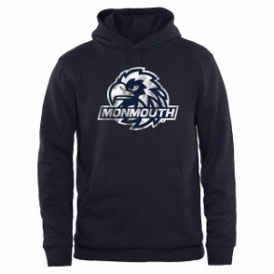 Fanatics Branded ファナティクス ブランド スポーツ用品  Monmouth Hawks Navy Big & Tall Classic Primary Pullover Hoodie
