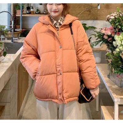 アウター レディース 冬 カジュアル 中綿ダウン ブルゾン  コート 大人可愛い ショート丈 ハイネック ゆったり オーバーサイズ 防寒 暖か シンプル きれいめ