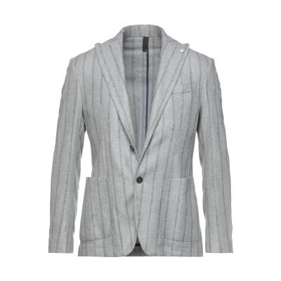DOMENICO TAGLIENTE テーラードジャケット ライトグレー 48 レーヨン 50% / ウール 32% / ナイロン 14% / アク