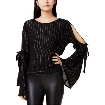 レディース 衣類 トップス Bar Iii Womens Cold Shoulder Knit Blouse ブラウス&シャツ