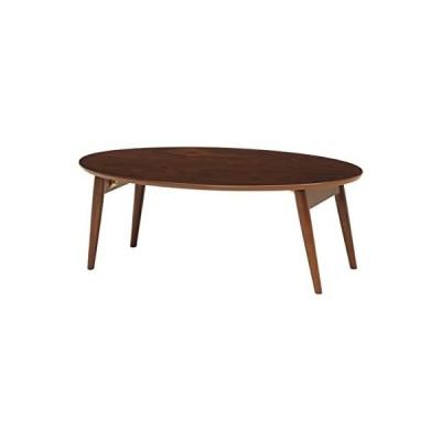 折れ脚テーブル ブラウン MT-6925BR