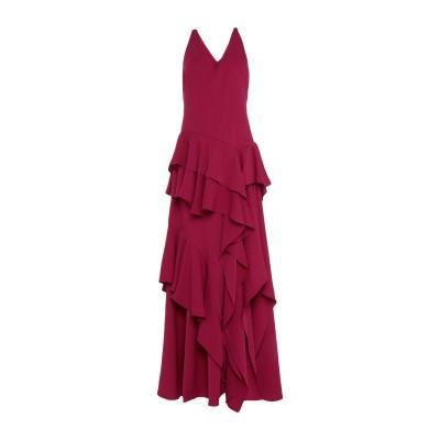 ホルストン・ヘリテージ HALSTON ロングワンピース&ドレス ガーネット 2 ポリエステル 100% ロングワンピース&ドレス