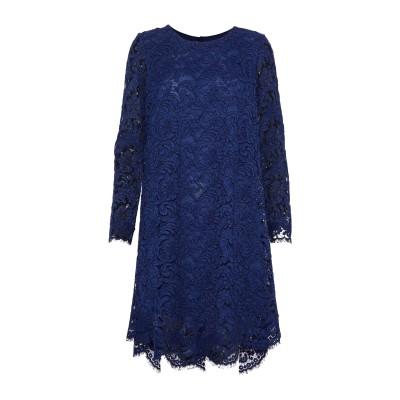 ADAM LIPPES ミニワンピース&ドレス ダークブルー 4 コットン 74% / レーヨン 18% / ナイロン 8% ミニワンピース&ドレス