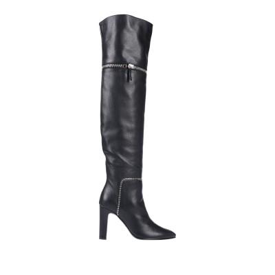 ジュゼッペ・ザノッティ・デザイン GIUSEPPE ZANOTTI ブーツ ブラック 35 革 ブーツ