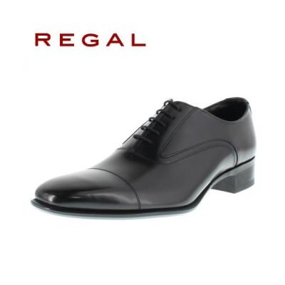 リーガル 靴 REGAL メンズ ビジネスシューズ 725R BJEB ブラック ストレートチップ 内羽根式 紳士靴 日本製 2E 本革
