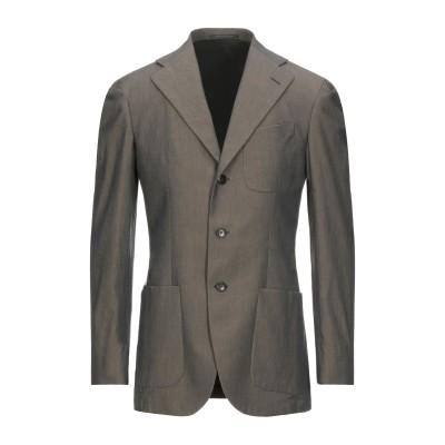 LUBIAM テーラードジャケット 鉛色 56 コットン 100% テーラードジャケット
