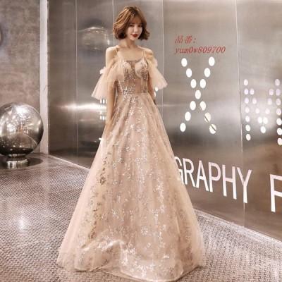 パーティードレス 姫系 ショート丈 二次会ドレス カラードレス イブニングドレス 大きいサイズ お花嫁ドレス 結婚式 演奏会 Aライン ウェディングドレス