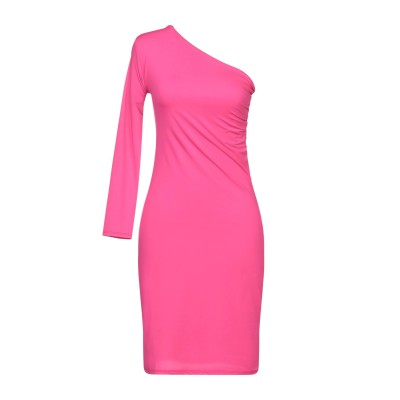 TWENTY EASY by KAOS ミニワンピース&ドレス フューシャ S ポリエステル 86% / ポリウレタン 14% ミニワンピース&ドレス